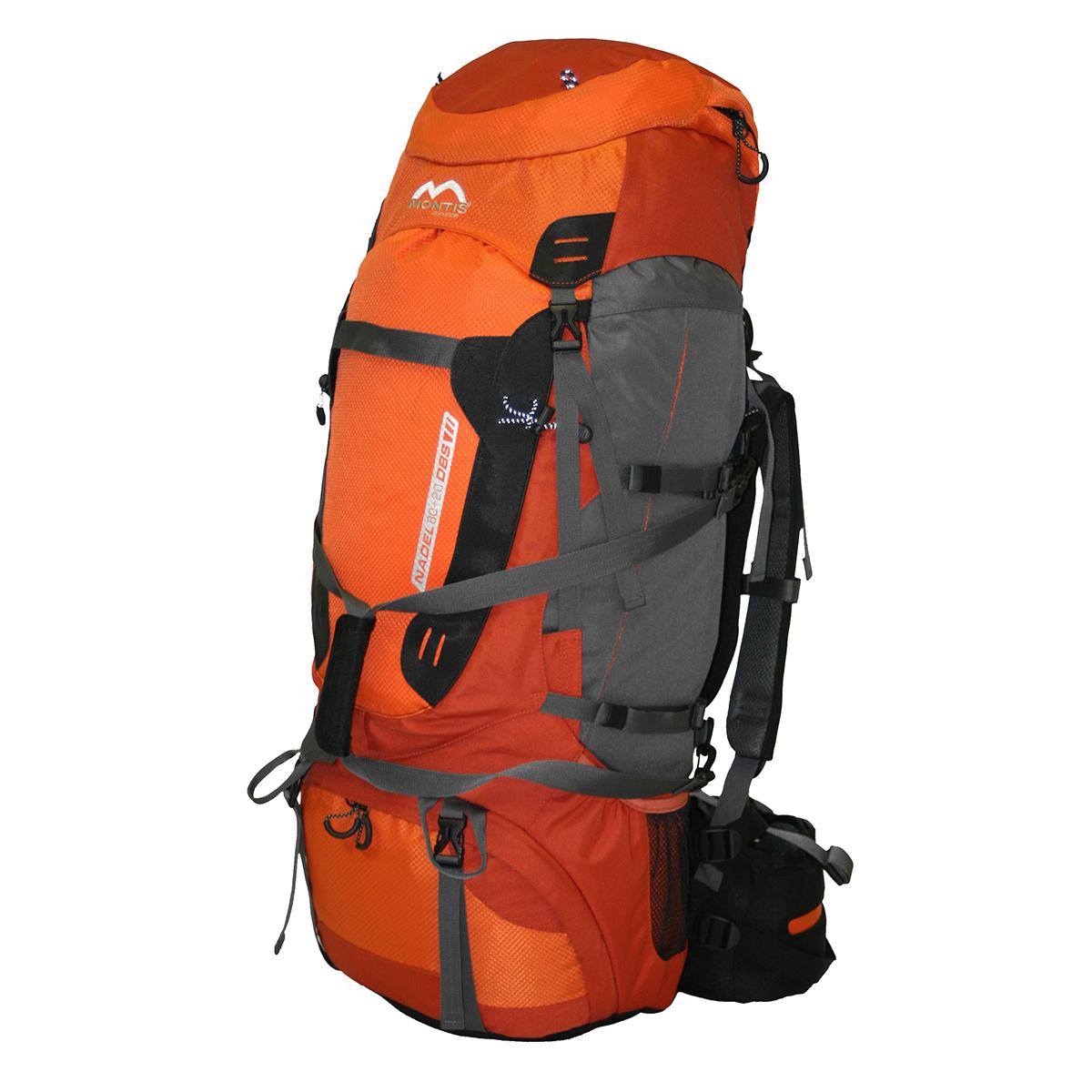 montis nadel 80 20 trekking rucksack tasche 100l ebay. Black Bedroom Furniture Sets. Home Design Ideas
